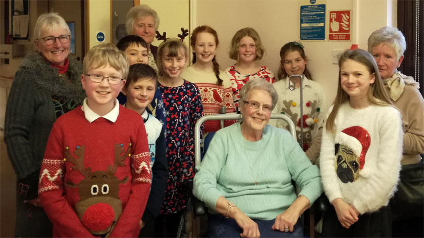 Deal Hospital League of Friends Christmas carols